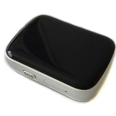 gps трекер для ребёнка и пожилых людей Локатор чёрный с GPS, WiFi и GSM. Маячок отслеживать местоположение на карте в режиме реального времени.