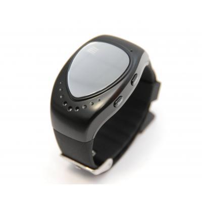 Часы-телефон для детей с GPS трекером ребенку от 6 лет, черные