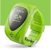 """""""Классик"""" Детские часы телефон с GPS трекером и СИМ зелёные (часофон)"""