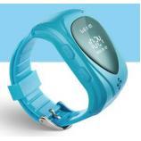 Классик Детские часы телефон с GPS трекером и СИМ голубые (часофон)
