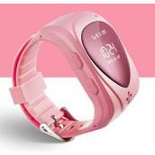 """""""Классик"""" Детские часы телефон с GPS трекером и СИМ розовые (часофон)"""