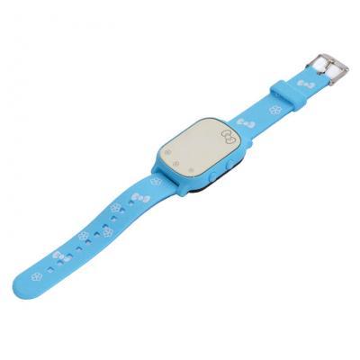 """""""Школьник"""" GPS трекер для школьницы девочки часы-телефон,  цвет бирюзовый"""
