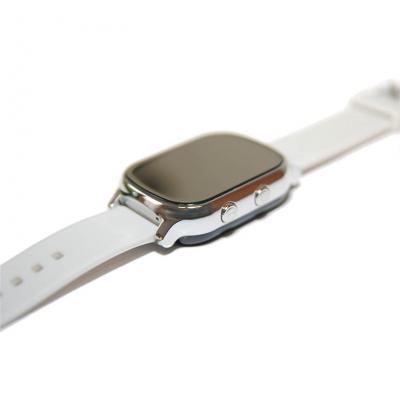 """""""Школьник"""" GPS трекер для школьника умные часы телефон с GPS, надежный и простой на 7-12 лет цвет серебро можно купить в Москве, СПб"""