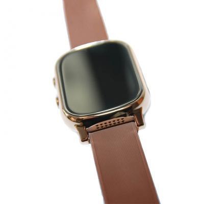 """""""Школьник"""" GPS трекер для школьников умные часы телефон для учеников начальных классов, цвет золотой"""
