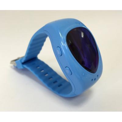 Часы-телефон для мальчиков и девочек с GPS трекером для детей от 6 лет, модель Малыш голубые
