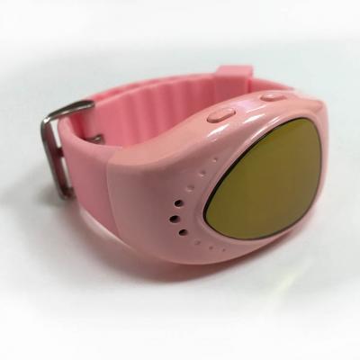 Часы-телефон для девочки с GPS трекером ребенку от 6 лет, цвет розовые