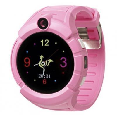 Smart Baby Watch i9 детские умные часы с GPS трекером Розовые