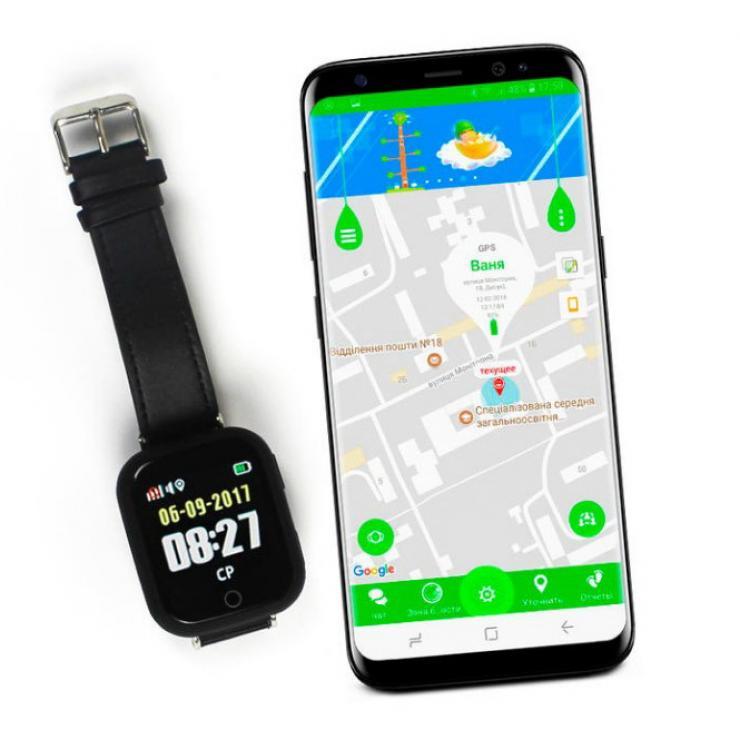 Smart Baby Watch q100s детские умные часы с GPS трекером
