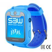 Smart Baby Watch SBW X детские часы с GPS синие